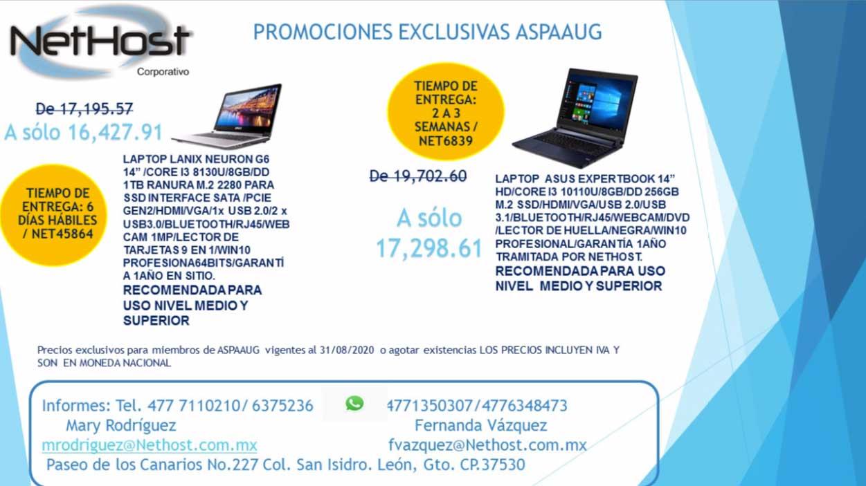 Promociones NetHost